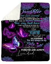 "To My Daughter-Dad Sherpa Fleece Blanket - 50"" x 60"" thumbnail"