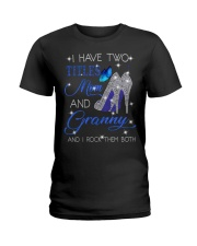 I Have Two Titles Mom And Granny Ladies T-Shirt tile