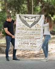 """To My Husband Quilt 40""""x50"""" - Baby aos-quilt-40x50-lifestyle-front-01"""