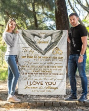 """To My Husband Quilt 40""""x50"""" - Baby aos-quilt-40x50-lifestyle-front-03"""