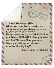 "To My Granddaughter - Grandma Sherpa Fleece Blanket - 50"" x 60"" thumbnail"