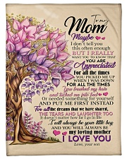 """To My Mom - Son Small Fleece Blanket - 30"""" x 40"""" front"""