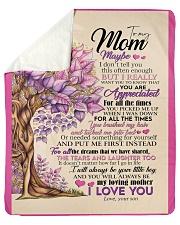 "To My Mom - Son Sherpa Fleece Blanket - 50"" x 60"" thumbnail"