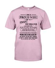 Apr Crazy Husband Classic T-Shirt front