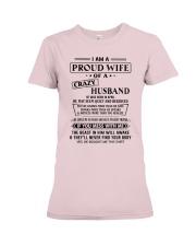 Apr Crazy Husband Premium Fit Ladies Tee thumbnail