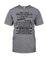 September Spoiler Husband Classic T-Shirt front