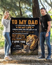 """To My Dad - Daughter Quilt 40""""x50"""" - Baby aos-quilt-40x50-lifestyle-front-03"""