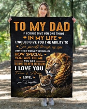 """To My Dad - Daughter Quilt 40""""x50"""" - Baby aos-quilt-40x50-lifestyle-front-05"""