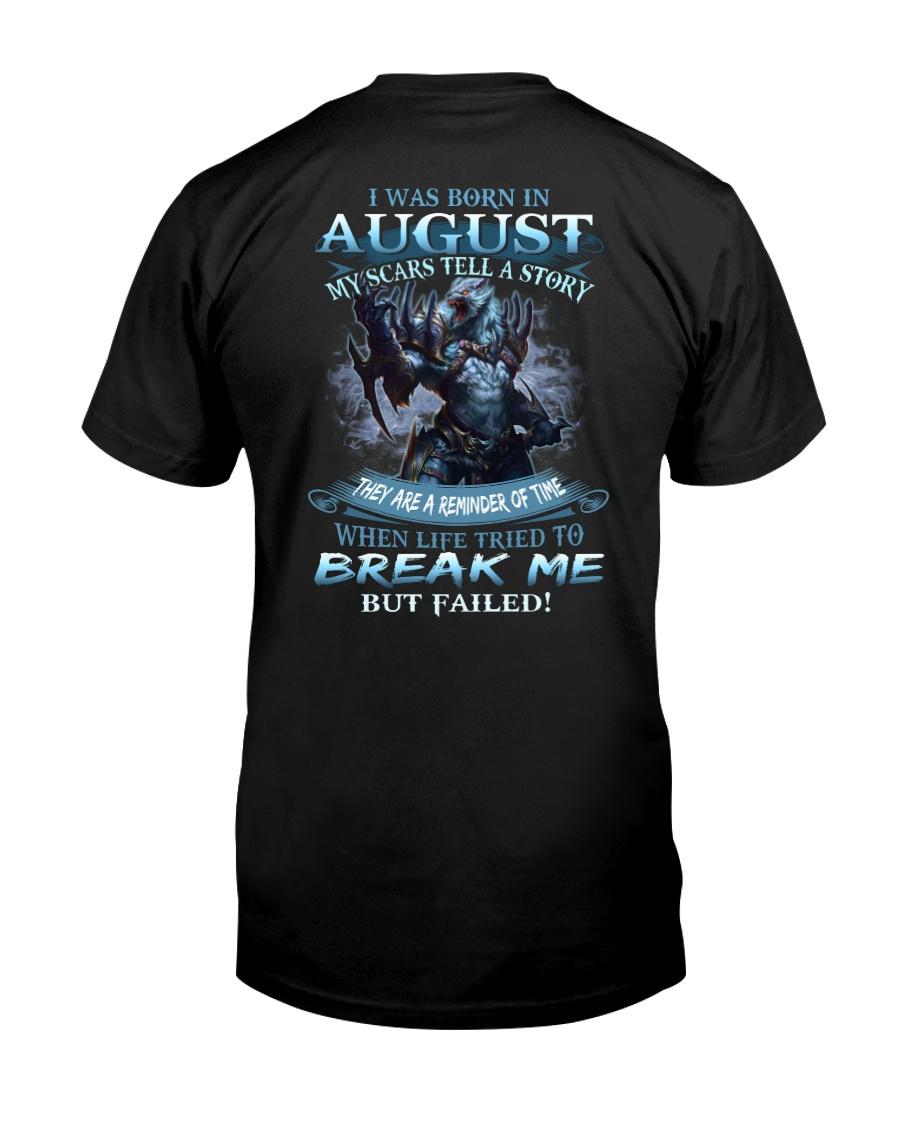 August Men Classic T-Shirt