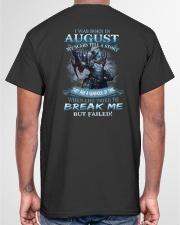 August Men Classic T-Shirt garment-tshirt-unisex-back-04