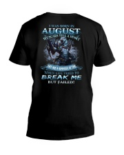 August Men V-Neck T-Shirt thumbnail