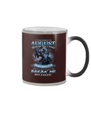 August Men Color Changing Mug thumbnail