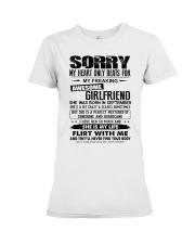 September Awesome Girlfriend Premium Fit Ladies Tee thumbnail