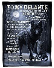 "To My Delante- Dad Small Fleece Blanket - 30"" x 40"" front"