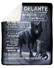 To My Delante- Dad Sherpa Fleece Blanket tile