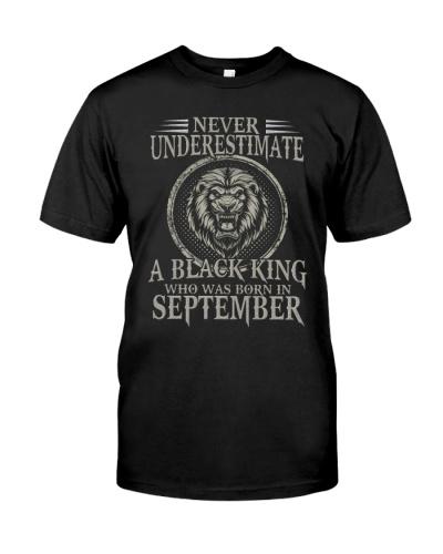 September A Black King