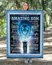 """To My Amazing Son Quilt 40""""x50"""" - Baby aos-quilt-40x50-lifestyle-front-05"""