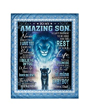 """To My Amazing Son Quilt 40""""x50"""" - Baby front"""