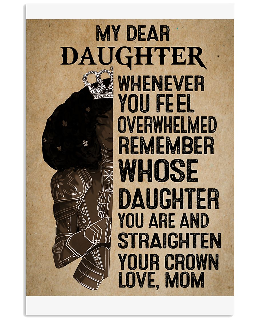 My Dear Daughter 11x17 Poster