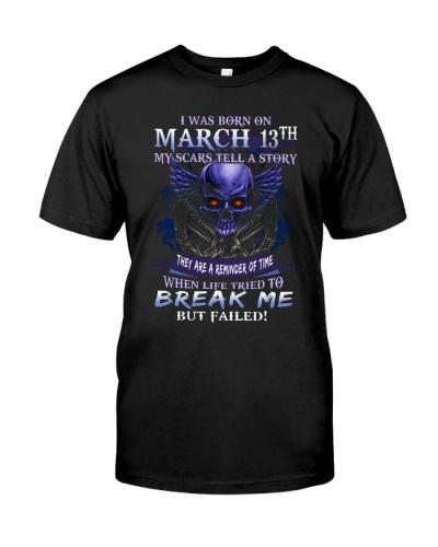 13 march  break me