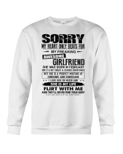 February  Sorry Girlfriend Crewneck Sweatshirt thumbnail