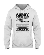 February  Sorry Girlfriend Hooded Sweatshirt thumbnail