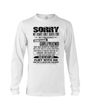 February  Sorry Girlfriend Long Sleeve Tee thumbnail