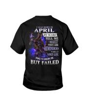 April  Men My Scars  Youth T-Shirt thumbnail
