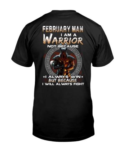 February I Am A Warrior