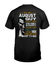 august 3 side Classic T-Shirt back