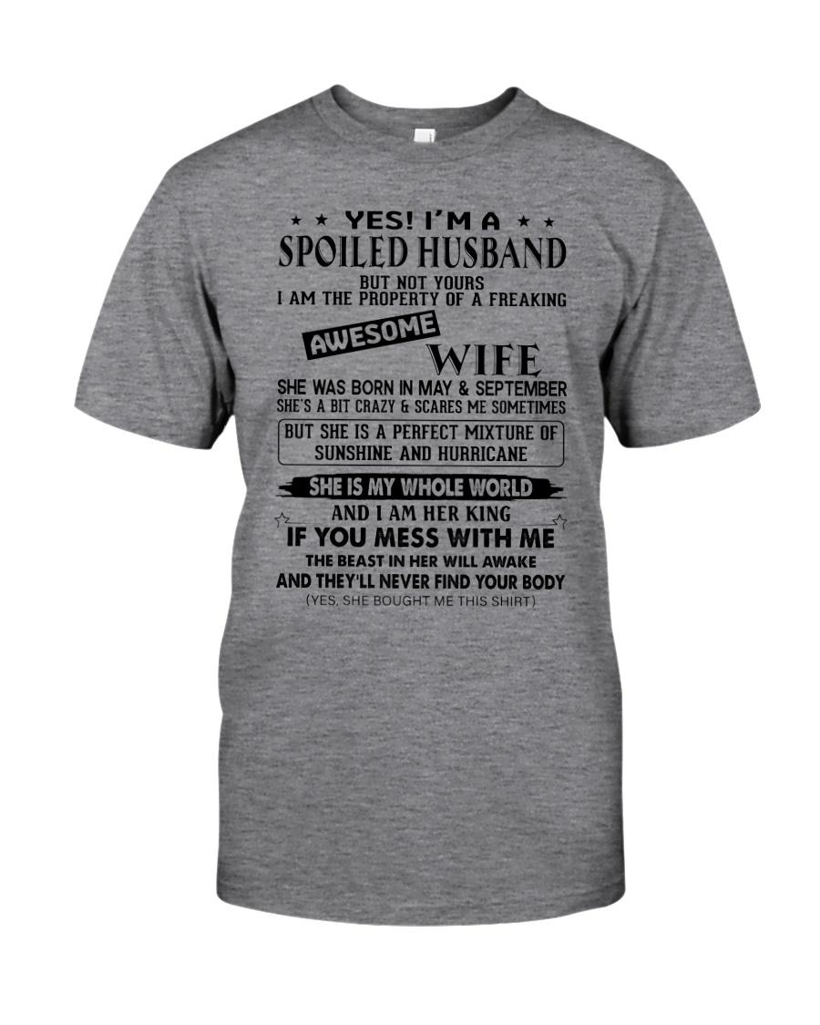 September Spoiler Husband Classic T-Shirt