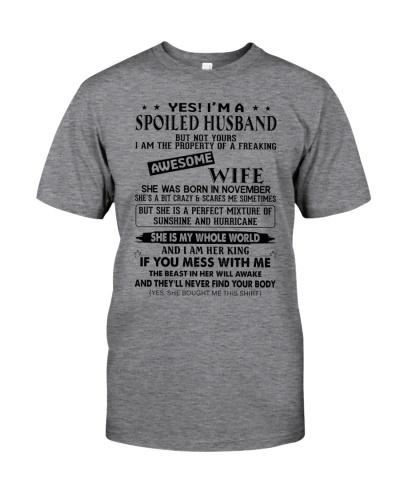 November  Spoiler Husband