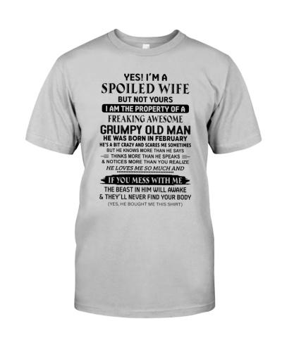 February Spoiled Wife