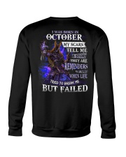 October Men My Scars  Crewneck Sweatshirt thumbnail