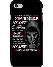 NOVEMBER Phone Case thumbnail