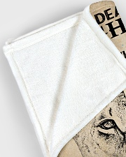 "My Dear Large Fleece Blanket - 60"" x 80"" aos-coral-fleece-blanket-60x80-lifestyle-front-12"