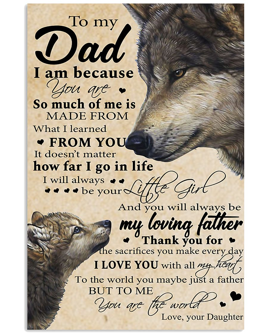 To My Dad 11x17 Poster