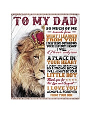 """To My Dad - Son  Quilt 40""""x50"""" - Baby front"""