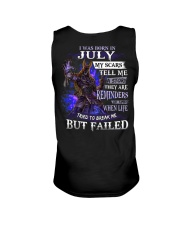 July Men My Scars  Unisex Tank thumbnail