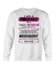 July Proud Wife Crewneck Sweatshirt thumbnail