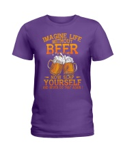 Life Without Beer Ladies T-Shirt thumbnail