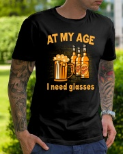 Need Beer Glasses Classic T-Shirt lifestyle-mens-crewneck-front-7