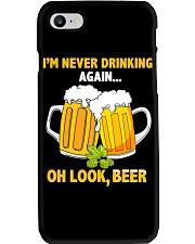Never Drinking Phone Case thumbnail