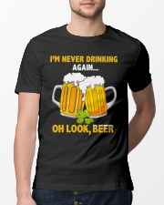 Never Drinking Classic T-Shirt lifestyle-mens-crewneck-front-13