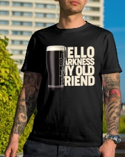 Hello Darkness Classic T-Shirt lifestyle-mens-crewneck-front-8