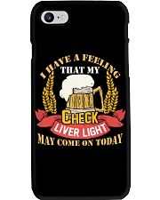 My Check Liver Light Phone Case thumbnail