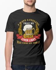 My Check Liver Light Classic T-Shirt lifestyle-mens-crewneck-front-13