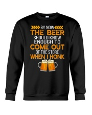 The Beer Come Out When I Honk Crewneck Sweatshirt thumbnail