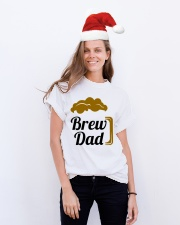 Brew Dad 1 Classic T-Shirt lifestyle-holiday-crewneck-front-1