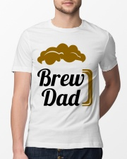 Brew Dad 1 Classic T-Shirt lifestyle-mens-crewneck-front-13